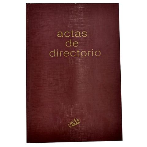 Libro Rab Acta de directorio TD-200 Folios