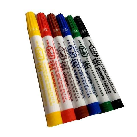 Marcadores Pizarra Trabi 151 x6 colores