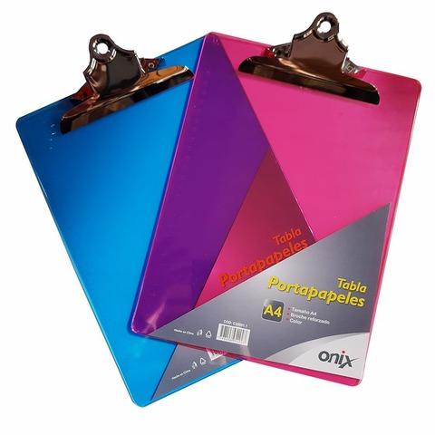 Portablock A4 Plástico Onix