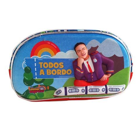 Cartuchera Canopla 3D 1 Cierre Topa Todos a bordo