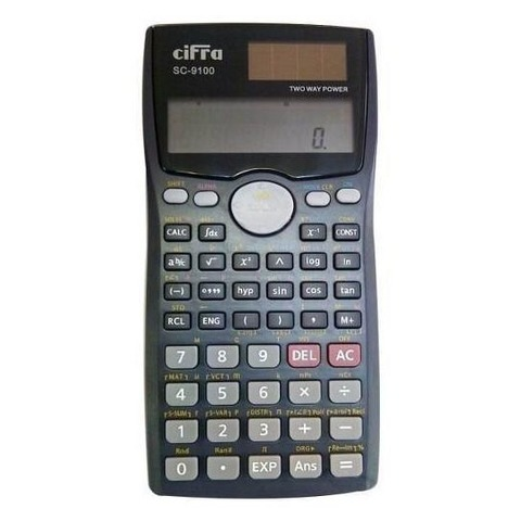 Calculadora Cientifica Cifra SC-9100