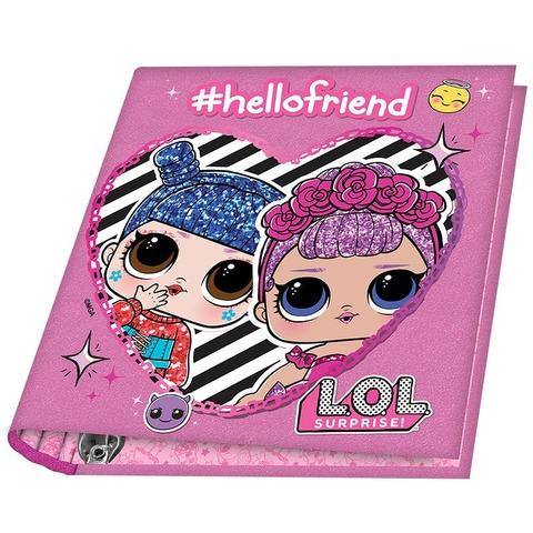 Carpeta Nº3 3x40 Mooving LOL Hello friend