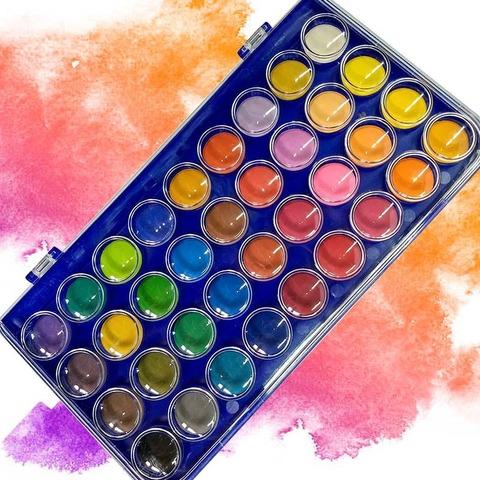 Acuarelas Rebhan x36 colores
