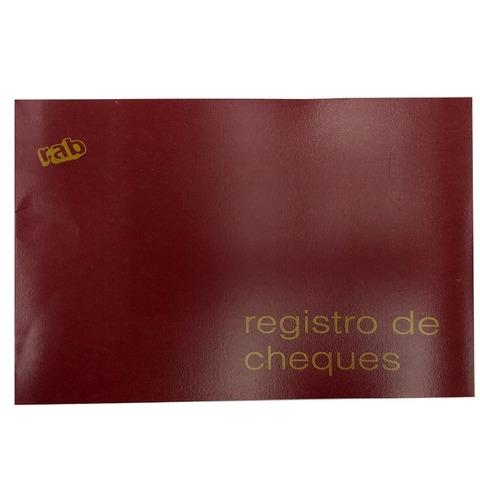 Libro Rab Registro de cheques TF-48 Folios