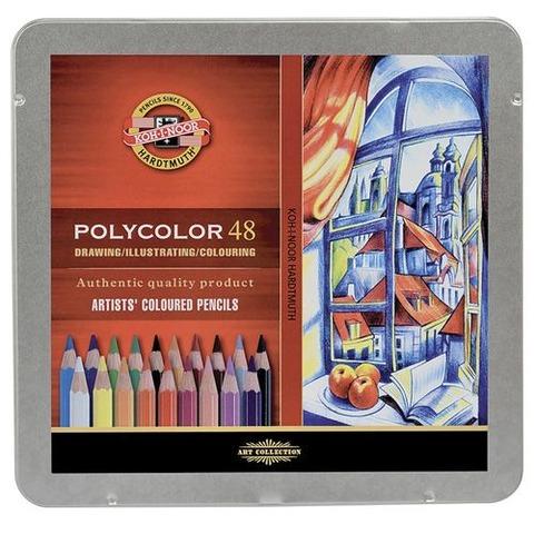 Lápiz Kohinoor Polycolor x48 Lata