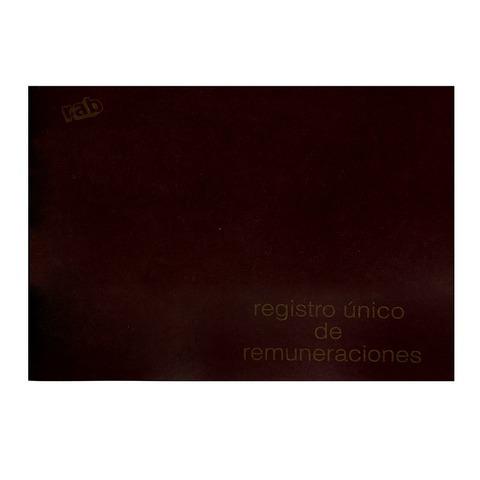 Libro Rab Reg. único de Remuneraciones TD-200 Folios