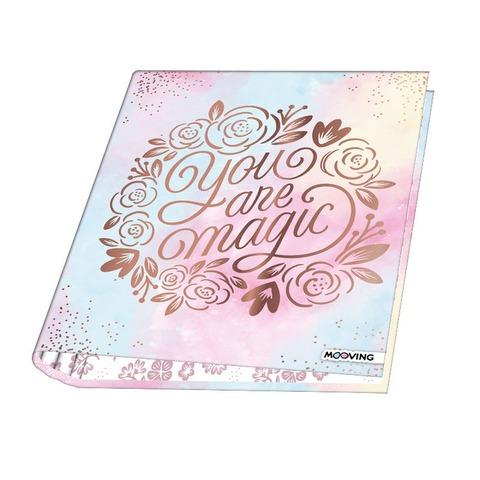 Carpeta A4 2x40 Mooving Golden Rose 1002193-i01
