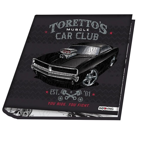 Carpeta Nº3 3x40 Mooving Rápidos y Furiosos Torettos