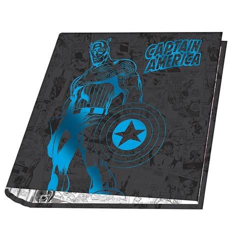 Carpeta Nº3 3x40 Mooving Marvel Capitán América
