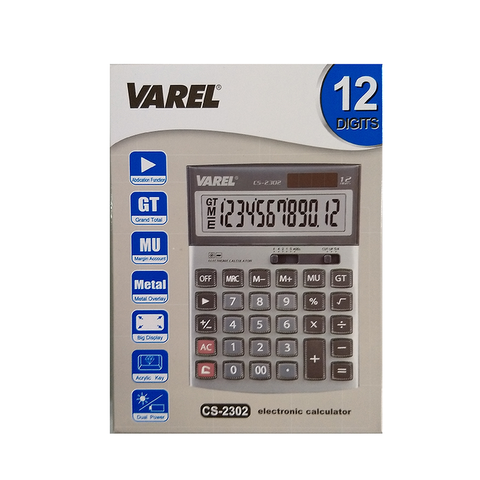 Calculadora Varel CS-2302