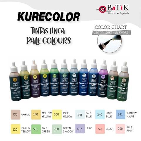 Tinta Kurecolor Línea: Pale Colours (colores pálidos)