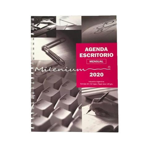 Calendario 2020 Milenium Agenda Mensual A4