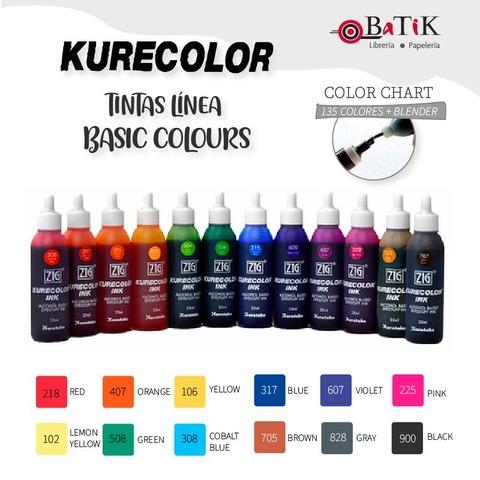 Kurecolor Tinta Línea: Basic Colours (colores básicos)