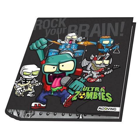 Carpeta Nº3 3x40 Mooving Ultra Zombies Brain