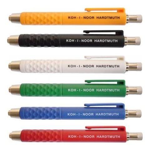 Portaminas 6mm Koh-i-noor 5305 Clip Plástico