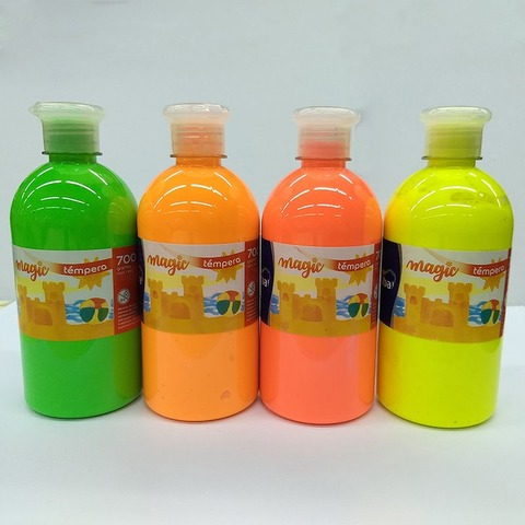 Tempera Alba Magic Botella Fluo 700cc