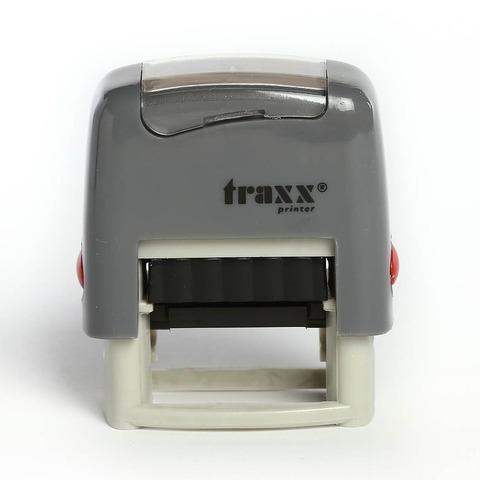 Promo sello completo Traxx (9011) + 3 líneas de texto Gris