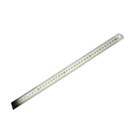 Regla Metálica Acero Plana  40cm