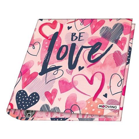 Carpeta Nº3 3x40 Mooving Love Be Love