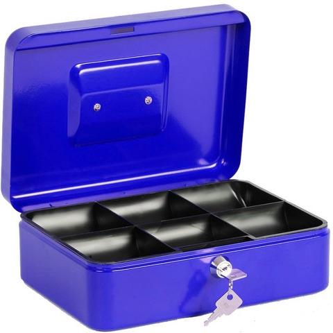Cofre Portavalores Ezco 8878S Azul