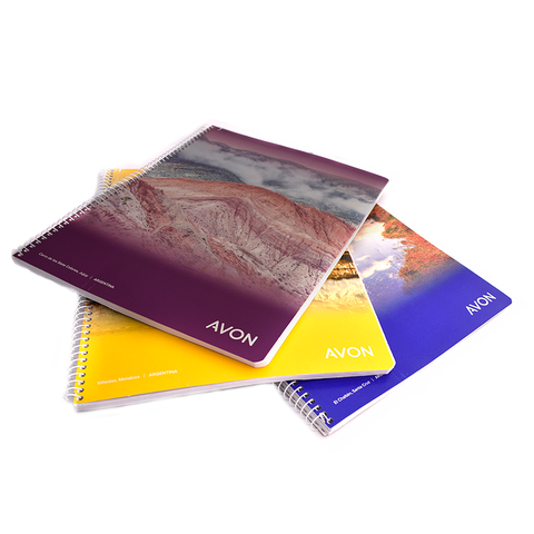 Promo Cuadernos Avon x3