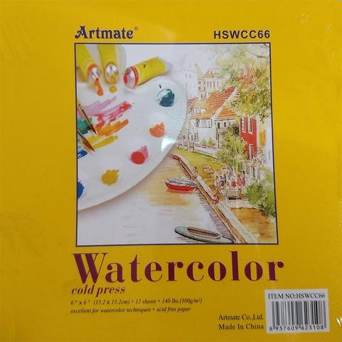 Block 15,2x15,2 Artmate Acuarela HSWCC66