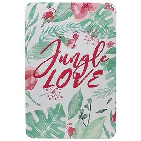 Cuaderno Mooving tapa metálica A6 Jungle Love