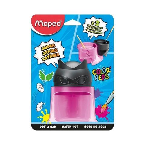 Mezclador Plástico Vaso Maped Rosa