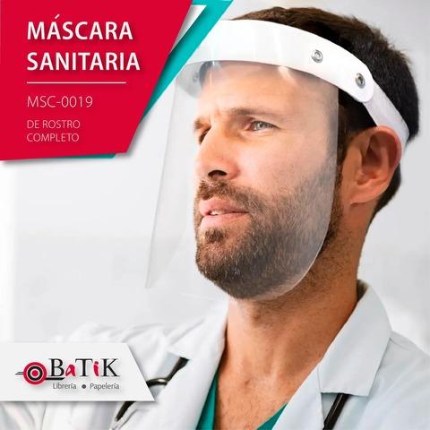 Máscara Sanitaria Facial MSC-1900 x1