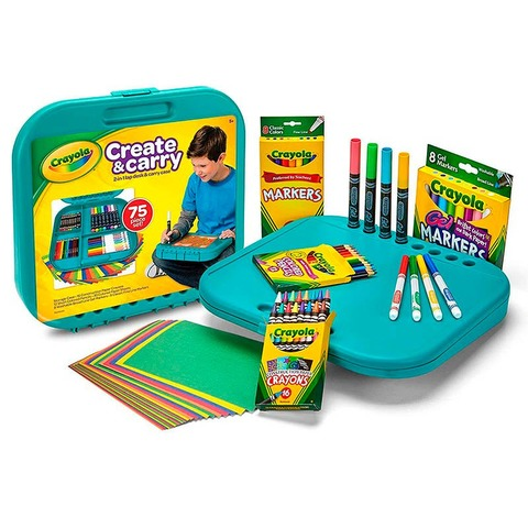 Kit Crayola Creative & Carry 75