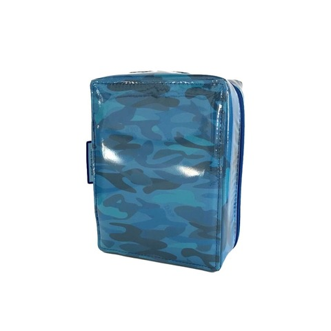 Cartuchera D&P Org. Serie 412 Interior móvil Camuflado Azul