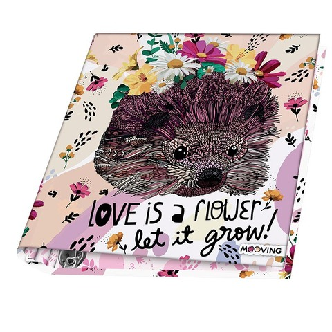 Carpeta Nº3 3x40 Mooving Animal Art Flower