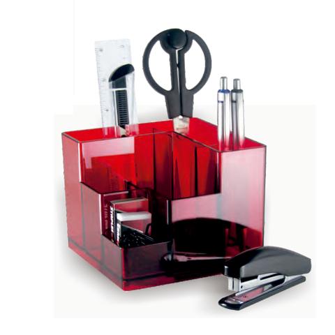 Portalápiz Organizador OLife S-929 Rojo