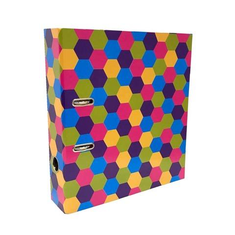 Bibliorato Fantasía A4 Lomo 7cm Panal Multicolor