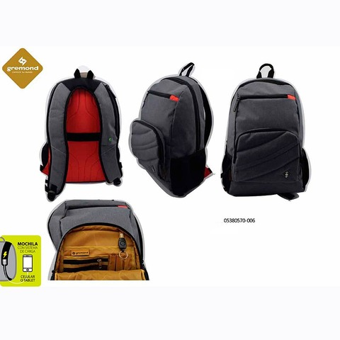 Mochila Gremond Portanotebook 0538-0570-006