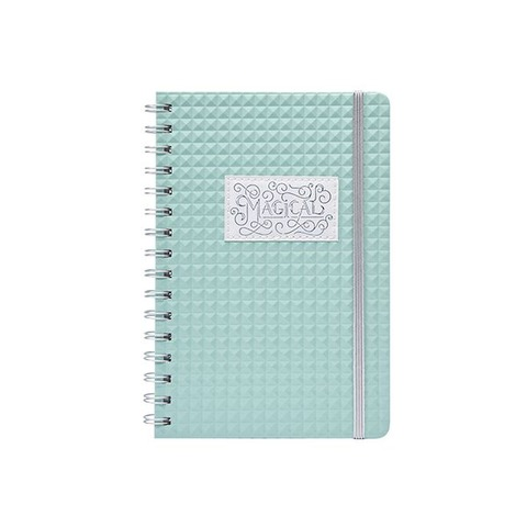 Cuaderno Chico Bullet Journal Mooving A5 1236132 verde