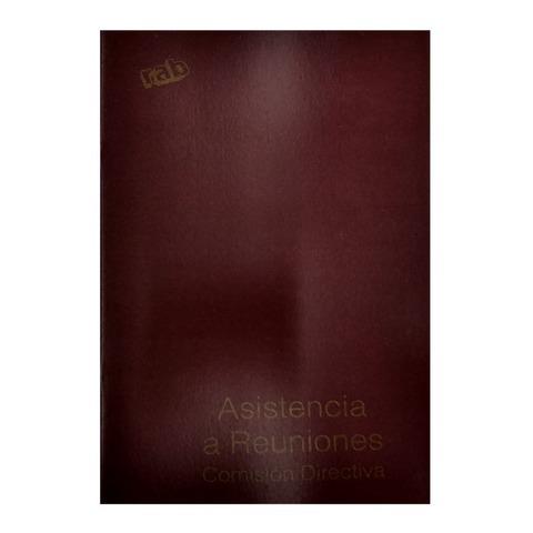 Libro Rab Asistencia a Reuniones TF-48 Folios
