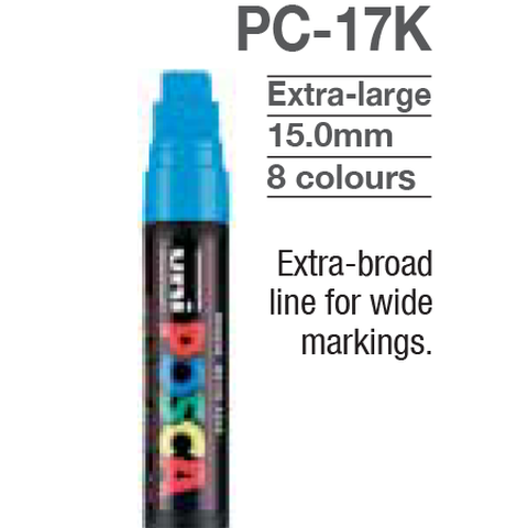 Marcador Posca PC-17K Extra Large