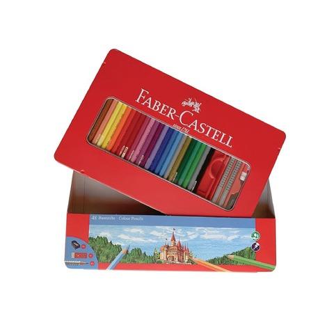 Lápiz Faber-Castell Ecolápiz Lata x48