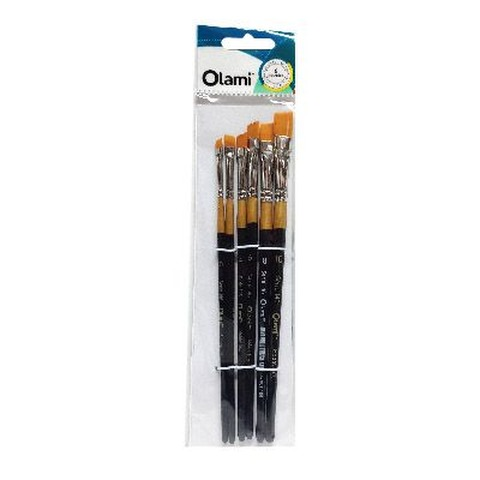 Pack de Pinceles Olami x6 Chanfle