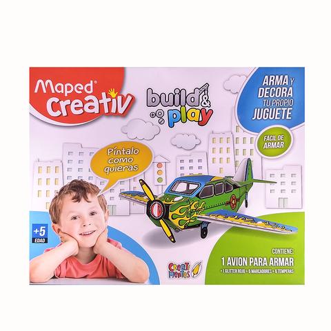Set didáctico Maped Juguetes de cartón Avión