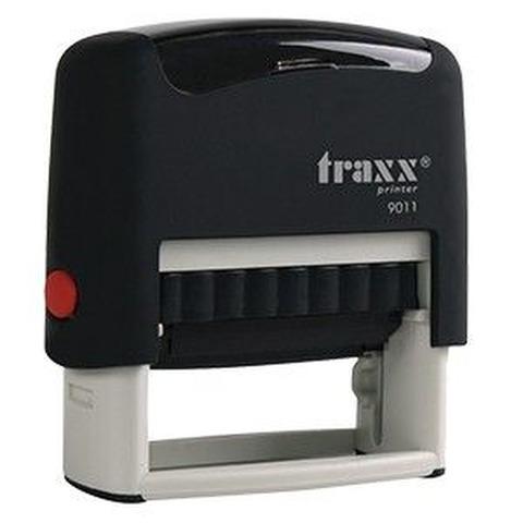 Promo sello completo Traxx (9011) + 3 líneas de texto