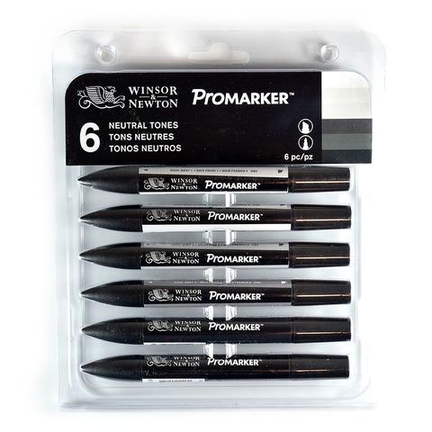 Marcadores Winsor & Newton Promarker Set x6