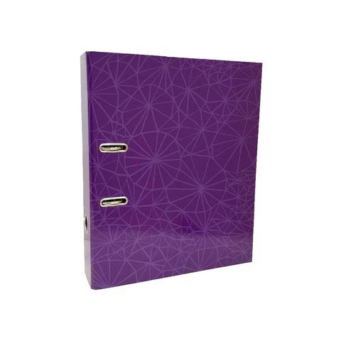 Bibliorato Fantasía Oficio Lomo 7cm Simil Araña Violeta