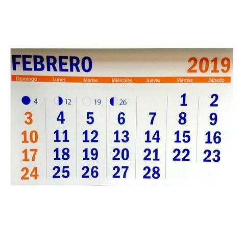 Calendario 2019 21x30cm