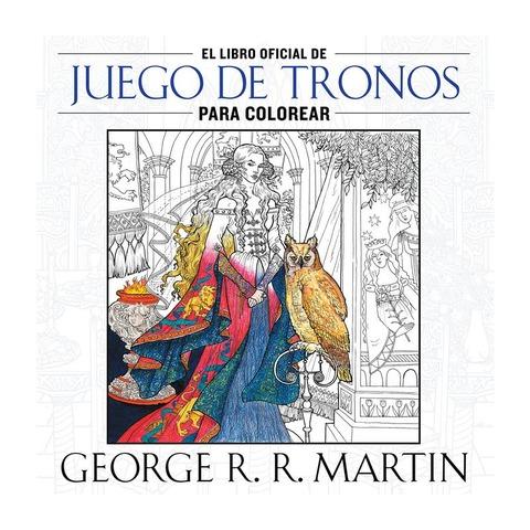 Libro para colorear Juego de Tronos