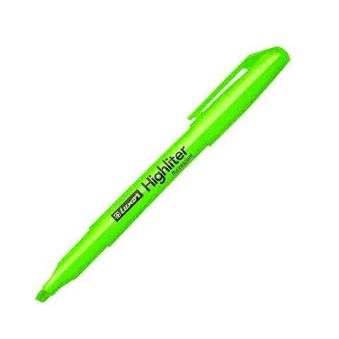 Resaltador Luxor Delgado Highlighter Verde
