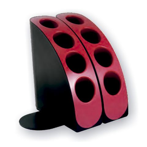 Posa Libros OLife S-833 Negro y Rojo