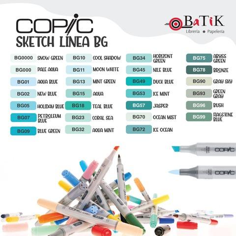 Copic Marcador Sketch  Línea BG