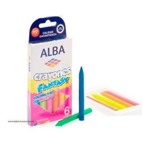 Cera Alba fluo con glitter